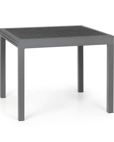 Blumfeldt Tenerife, zahradní stolek, 90 x 90 cm, hliník, sklo, granit