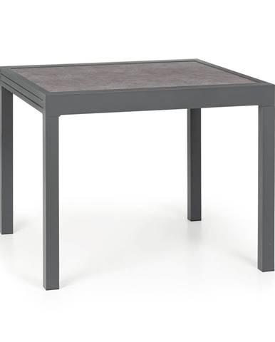 Blumfeldt Tenerife, zahradní stolek, 90 x 90 cm, hliník, sklo, mramor
