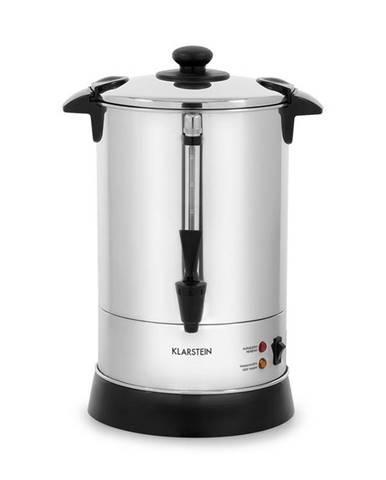 Klarstein Excelsa, kávovar s kulatým filtrem, 30 šálků, výpustný kohout, ušlechtilá ocel