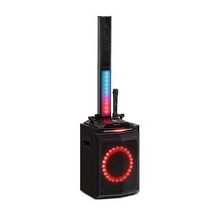 """Auna Clubmaster Tube, party zvukový systém, 150 W max., 10"""" oofer, USB, BT, AU, černý"""
