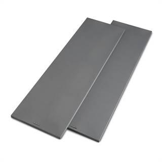 Numan Reference 801 Cover, stříbrný, kryt na věžové reproduktory, pár