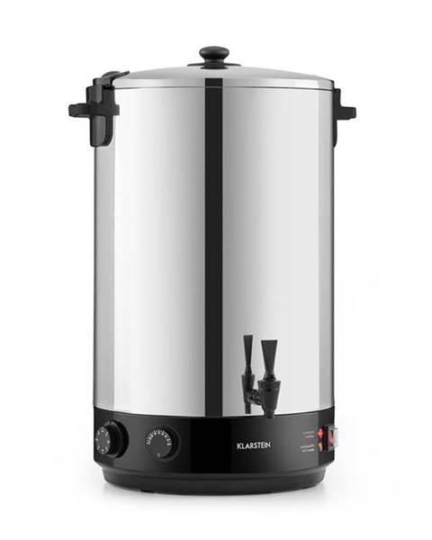 Klarstein Klarstein KonfiStar 50, zavařovací hrnec, automat na teplé nápoje, 50 l, 110 °C, 120 min., ušlechtilá ocel