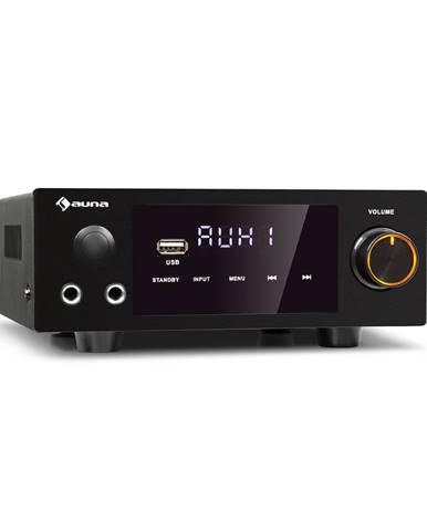 Auna AMP-2 DG, stereo HiFi zesilovač, 2x50 W, RMS, BT/USB, optický a koaxální digitální vstup