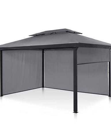 Blumfeldt Grandezza Cortina, zahradní stan, 3 x 4 m, č boční díly, tmavě šedý