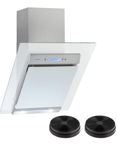 Klarstein Skycook, odsavač par, set, filtry s aktivním uhlím, 60 cm, 640m³/h, sklo, nerezová ocel