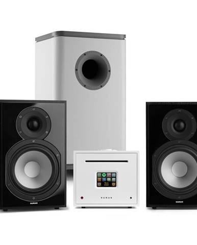 Numan Unison Reference 802 Edition, stereo systém, zesilovač, reproduktory, černo/bílá