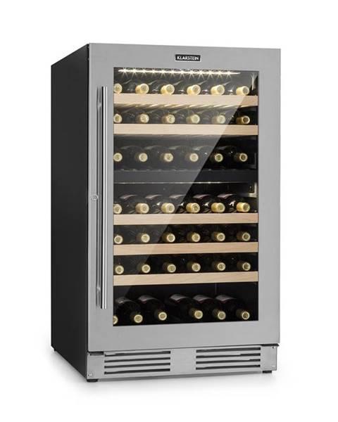 Klarstein Klarstein Vinovilla Duo79, dvouzónová vinotéka, 189 l, 79 lahví, třívrstvé skleněné dveře