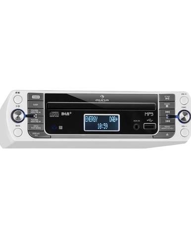 Auna KR-400 CD, kuchyňské rádio, DAB + / PLL FM rádio, CD/MP3 přehrávač, stříbrné