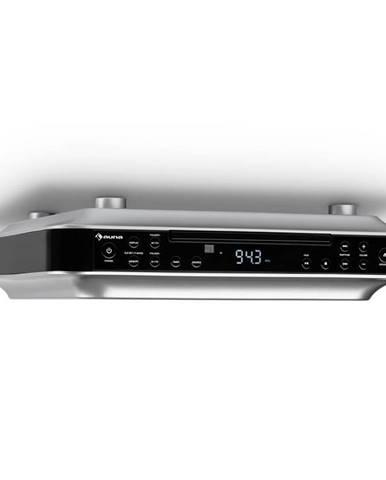 Auna KRCD-100 BT kuchyňské rádio na zabudování, CD, MP3, rádio, černá barva