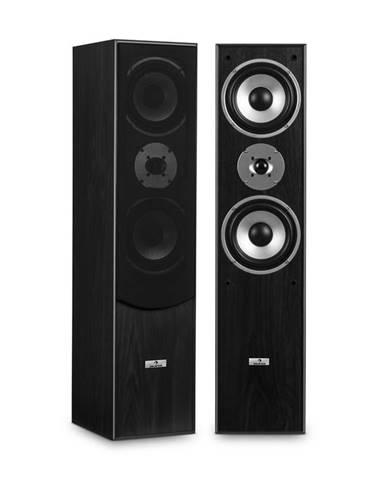 Auna L766 3cestné basreflex Hi-Fi reproduktory, pár, černá barva