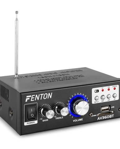 Fenton AV360BT, stereo zesilovač, 80 W RMS (2x 40 W na 8 Ohm), BT / USB / SD / AUX