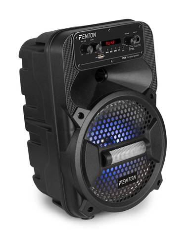 Fenton FPC8, párty reproduktor, bluetooth, USB / SD / AUX, LED dálkové ovládání