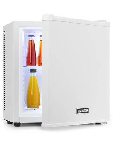 Klarstein Secret Cool, mini lednička, mini bar, 13 l, energetická třída A+, 0 dB, bílá