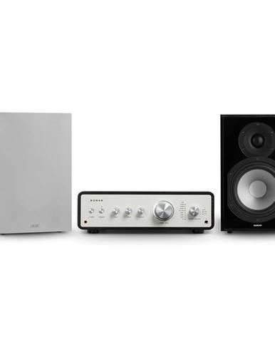 Numan Drive 802, stereo sada, stereo zesilovač, regálový reproduktor, černá/šedá
