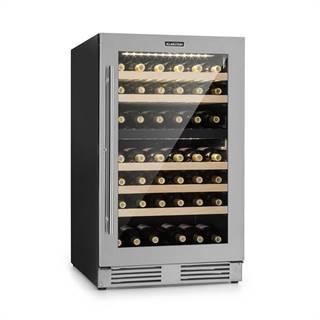 Klarstein Vinovilla Duo79, dvouzónová vinotéka, 189 l, 79 lahví, třívrstvé skleněné dveře