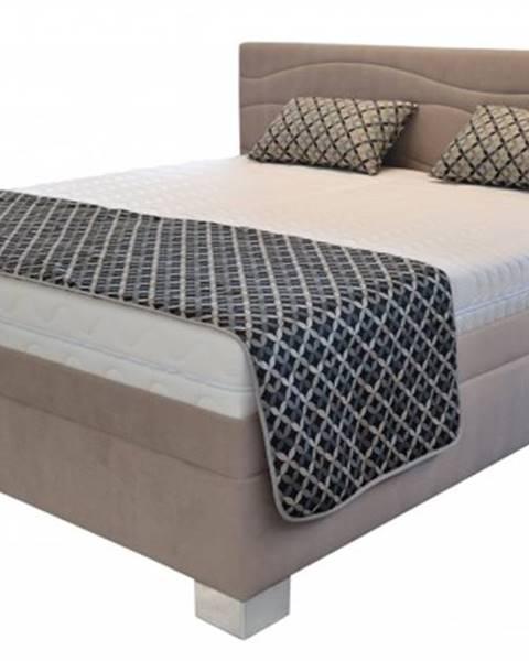 Blanář čalouněná postel windsor 180x200, vč. el. roštu, bez matrace