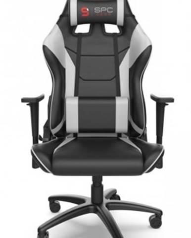 Herní židle spc gear sr300 v2 wh bílá