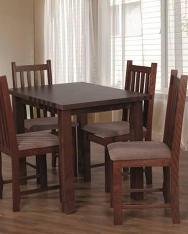 Jídelní set jídelní set 31 - stůl 100x70, 4x židle