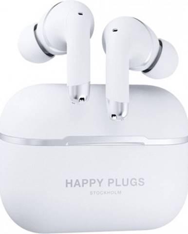 Špuntová sluchátka happy plugs air 1 anc - white