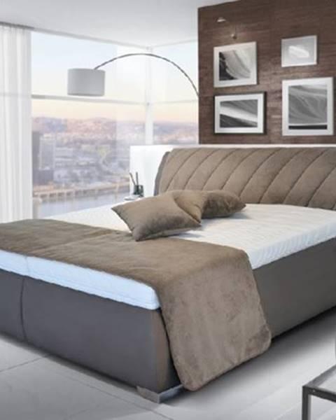Blanář čalouněná postel grosseto 180x200, rošt, bez matrací