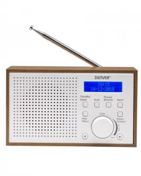 Denver Digitální rádio denver