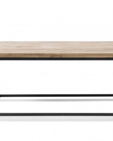 MC AKCENT Konfereční stolek - dřevěný konferenční stolek devon