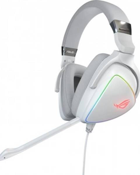 ASUS Sluchátka přes hlavu headset asus rog delta white
