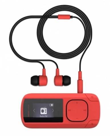 MP3 přehrávače energy mp3 clip coral