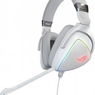 Sluchátka přes hlavu headset asus rog delta white