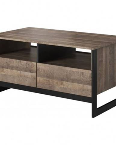 Konfereční stolek - dřevěný konferenční stolek laura