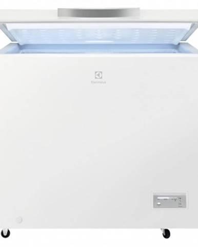 Pultový mrazák truhlicový mrazák electrolux lcb3lf20w0