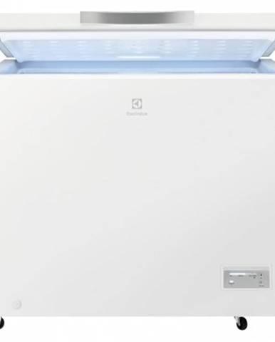 Pultový mrazák truhlicový mrazák electrolux lcb3lf26w0