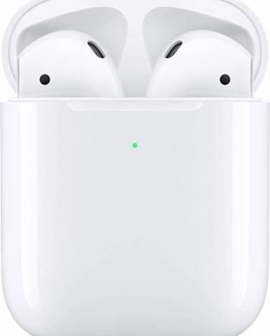 Špuntová sluchátka apple airpods mv7n2zm/a