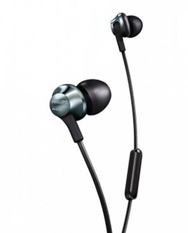 Špuntová sluchátka sluchátka philips pro6105bk, černá