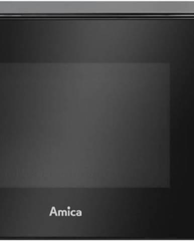 Volně stojící mikrovlnná trouba volně stojící mikrovlnná trouba amica ammf20m1b, 700 w, černá
