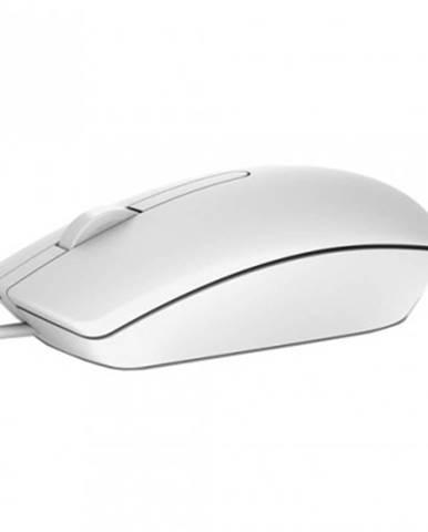 Drátové myši drátová myš dell ms116, bílá