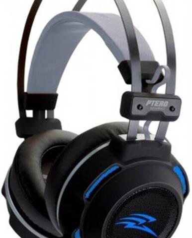 Sluchátka přes hlavu herní sluchátka evolveo ptero ghx300, podsvícené, s mikrofonem