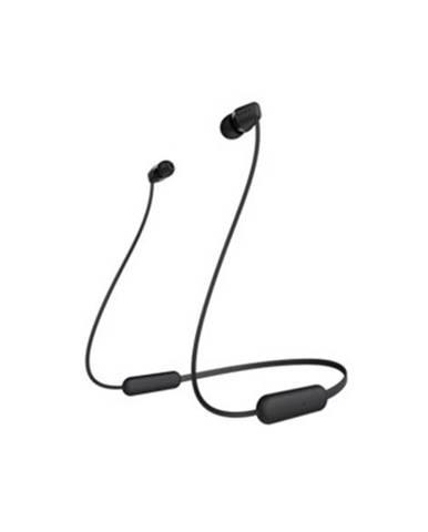 Špuntová sluchátka sony wi-c200 černá