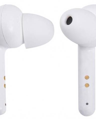 Špuntová sluchátka trevi hmp 12e07 air/wh bílá