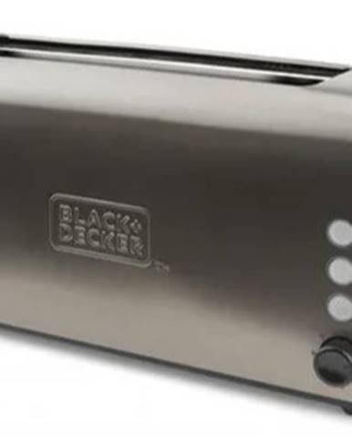 Topinkovač topinkovač black+decker bxto1000e, 1000w, nerez