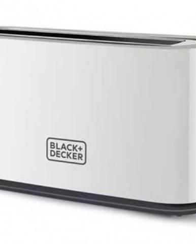 Topinkovač topinkovač black+decker bxto1001e, 1000w, bílý