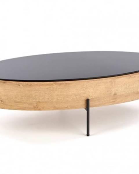 Halmar Konfereční stolek - dřevěný konferenční stolek wald