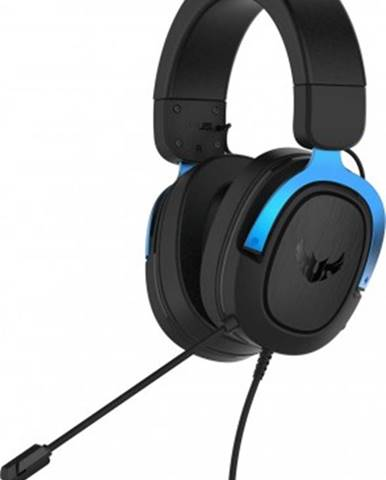 Sluchátka přes hlavu headset asus tuf gaming h3, modrý