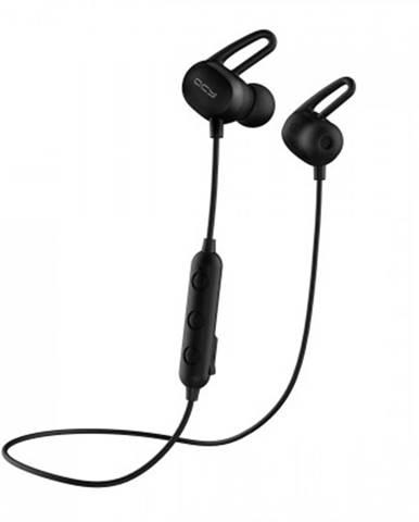Špuntová sluchátka sportovní sluchátka qcy - e2, černá