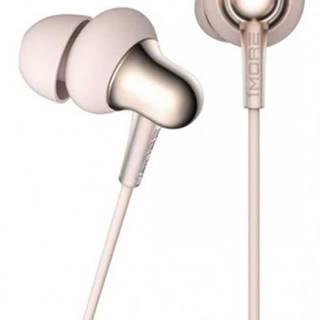 Špuntová sluchátka 1more stylish in-ear headphones gold