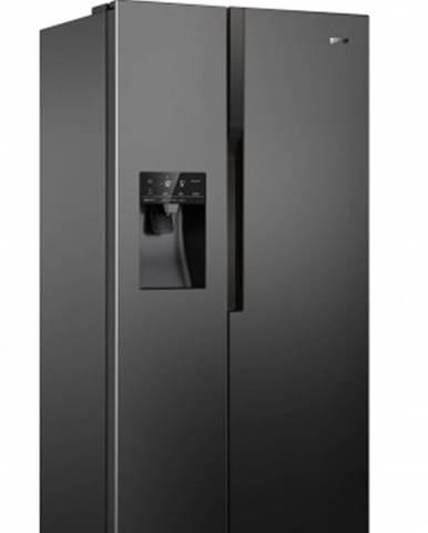 Americká lednice gorenje nrs9182vb,černá