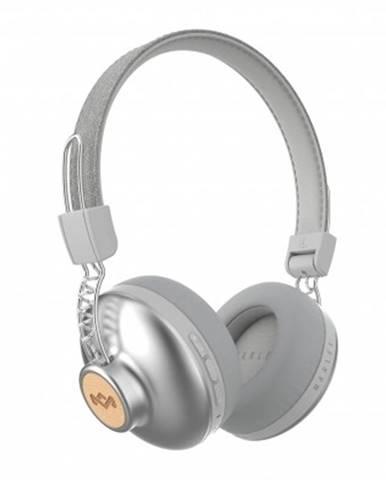 Sluchátka přes hlavu sluchátka přes hlavu marley positive vibration - silver
