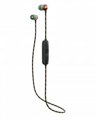 Špuntová sluchátka sluchátka do uší marley smile jamaica wireless 2 - rasta