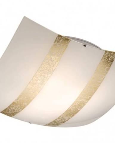 Stropní osvětlení trio tr608700379 stropní svítidlo nikosia,3xe27,zlatá,50x50cm