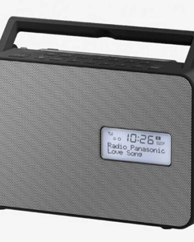 Radiopřijímač panasonic rf-d30bteg-k použité, neopotřebené zboží